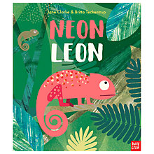 Buy Neon Leon Children's Book Online at johnlewis.com