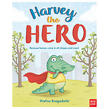 Buy Harvey The Hero Children's Book Online at johnlewis.com