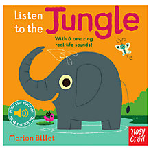 Buy Listen To The Jungle Children's Book Online at johnlewis.com