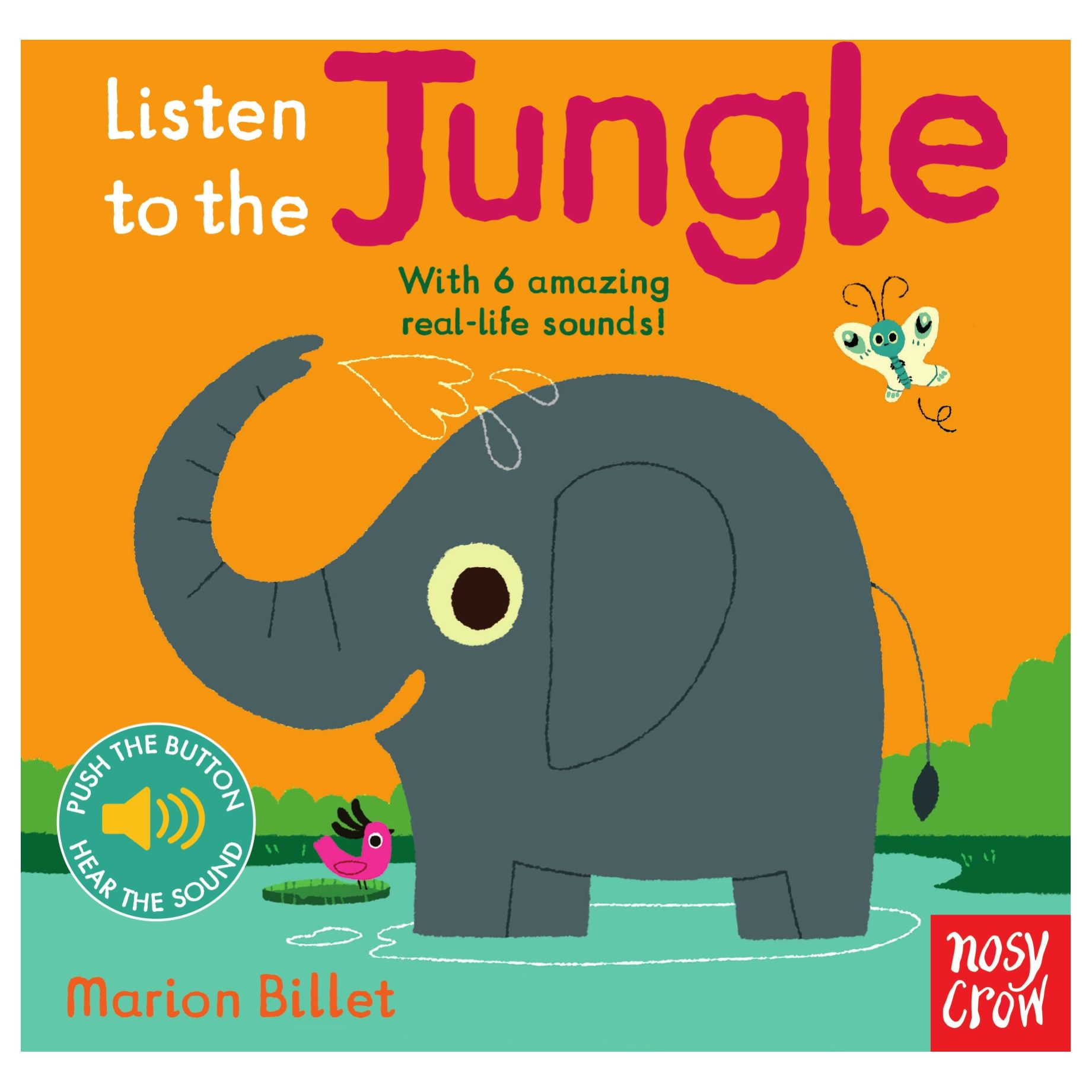 Nosy Crow Listen To The Jungle Children's Book