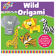 Buy Galt Wild Origami Kit Online at johnlewis.com