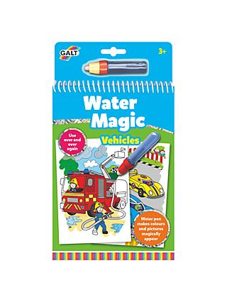 Galt Water Magic Vehicles Colouring
