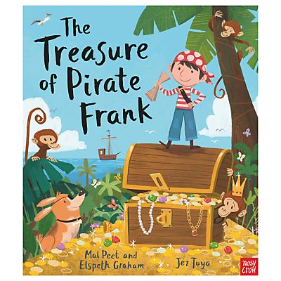 The Treasure Of Pirate Frank Children's Book