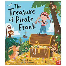 Buy Nosy Crow The Treasure of Pirate Frank Children's Book Online at johnlewis.com