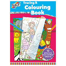 Buy Galt Tracing & Colouring Book Online at johnlewis.com