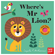 Buy Where's Mr Lion? Children's Book Online at johnlewis.com