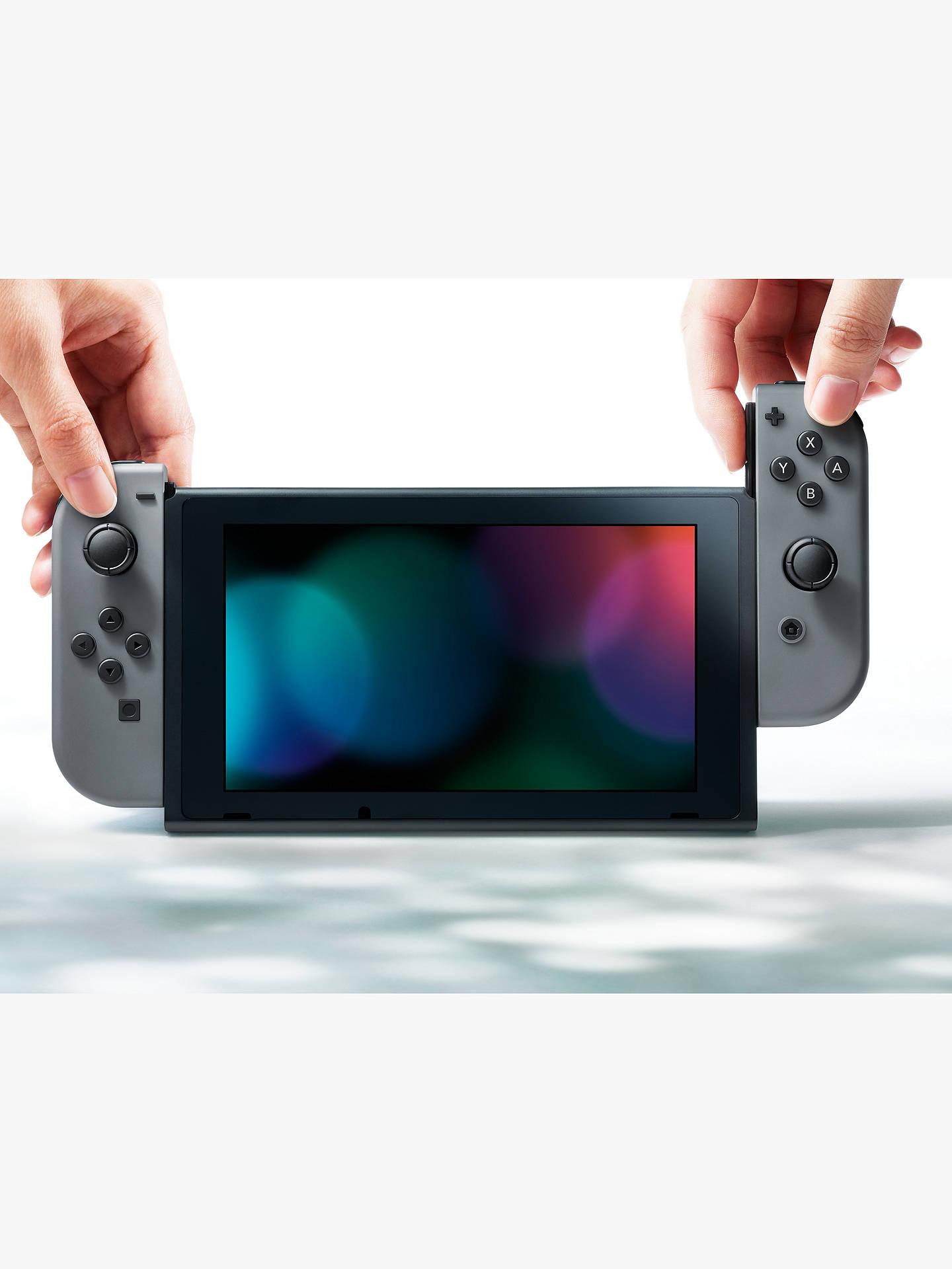 Nintendo Switch Console with Joy-Con, Grey