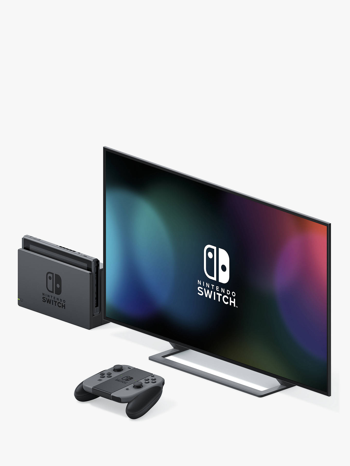 Nintendo Switch Console with Joy-Con, Grey
