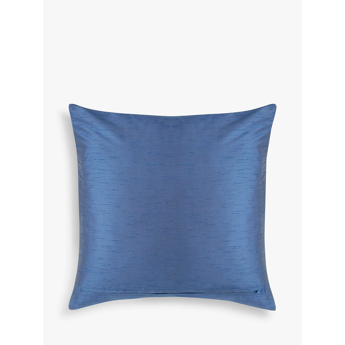 BuyLiberty Fabrics & John Lewis Caesar Jacquard Cushion, Blue Online at johnlewis.com