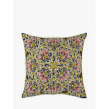 Buy Liberty Fabrics & John Lewis Lodden Flower Cushion Online at johnlewis.com