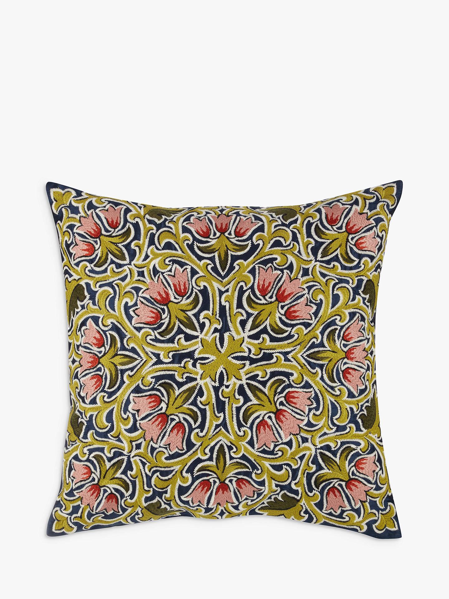 82a74071ce7d Liberty Fabrics   John Lewis Lodden Flower Cushion at John Lewis ...