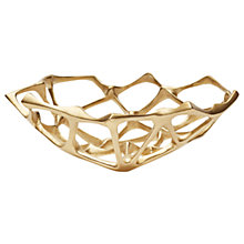 Buy Tom Dixon Small Bone Bowl, Brass Online at johnlewis.com