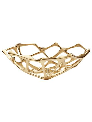 Tom Dixon Small Bone Bowl, Brass