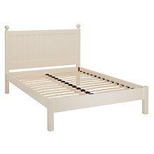 Buy John Lewis Special St Ives Bed Frame, King Size, Ivory Online at johnlewis.com