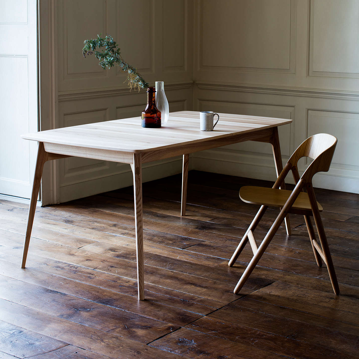 BuyMatthew Hilton for Case Dulwich Extending Dining Table, Oak Online at johnlewis.com