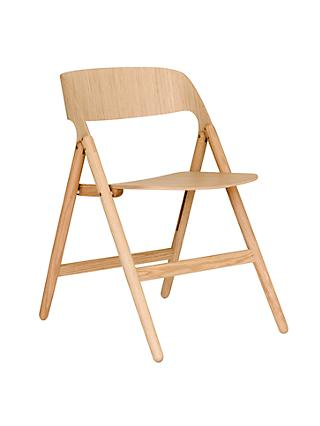 David Irwin for Case Narin Folding Chair, Oak