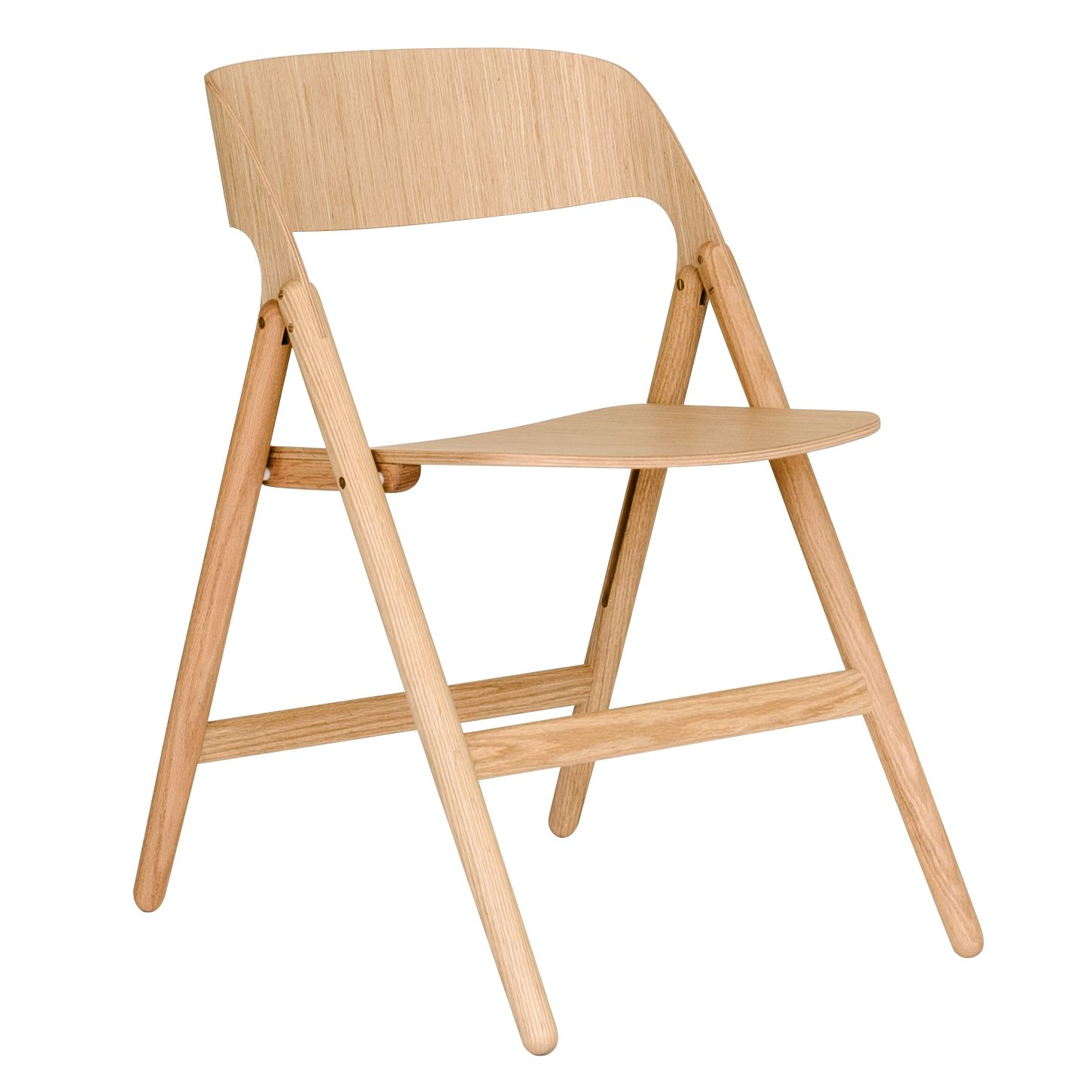 Case David Irwin for Case Narin Folding Chair, Oak