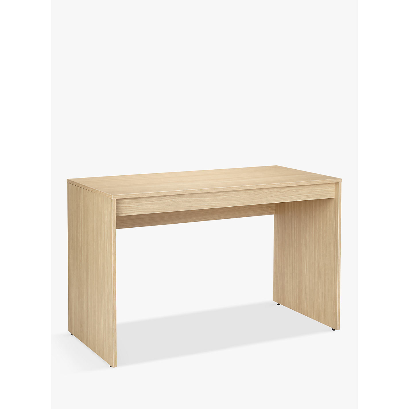 John Lewis The Basics Didi Desk Oak Online At Johnlewis