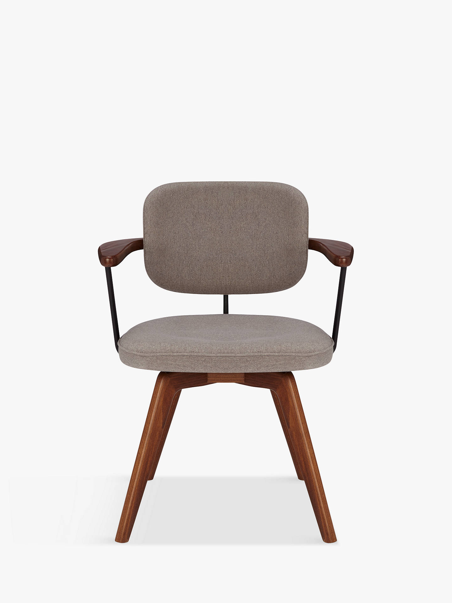 John Lewis Partners Soren Office Chair Grey Brown At John Lewis Partners