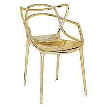 Buy Philippe Starck for Kartell Masters Chair, Gold Online at johnlewis.com