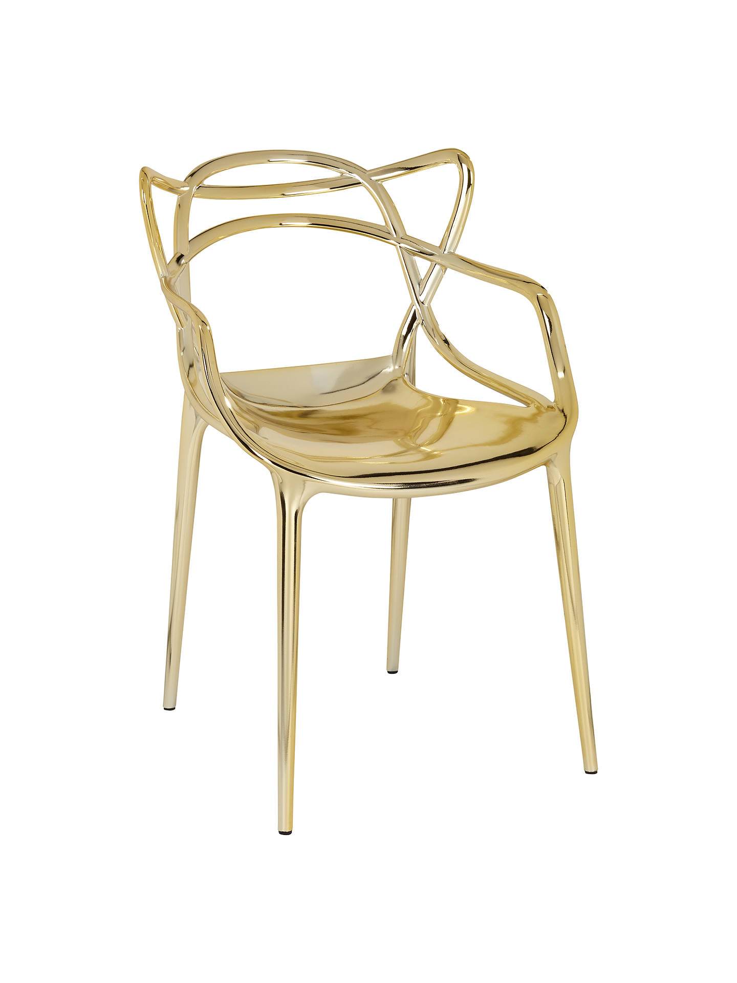 BuyPhilippe Starck For Kartell Masters Chair, Gold Online At Johnlewis.com  ...