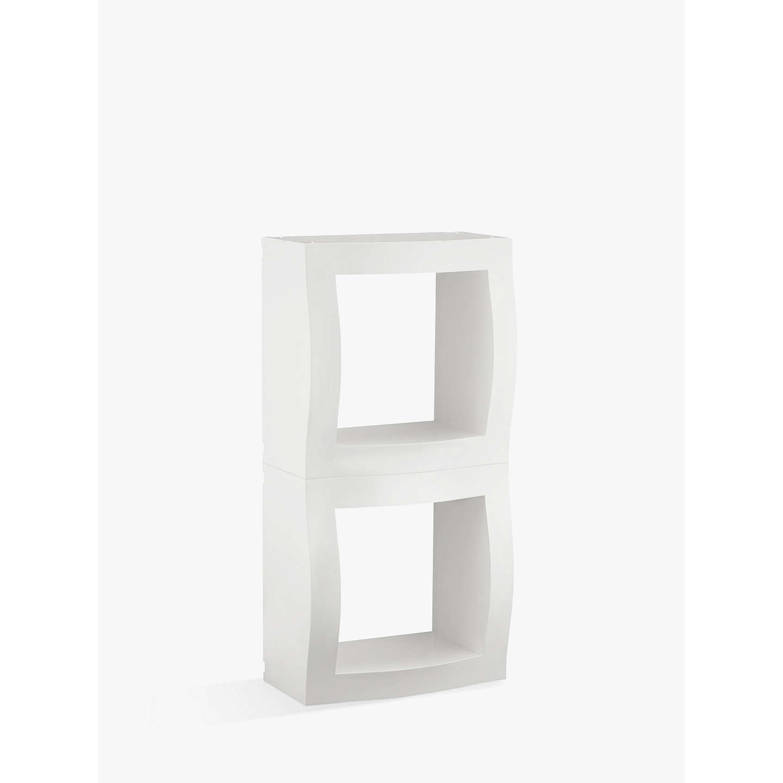 BuyMagis Boogie Woogie Cube Storage Unit, Set Of 2, White Online At  Johnlewis.