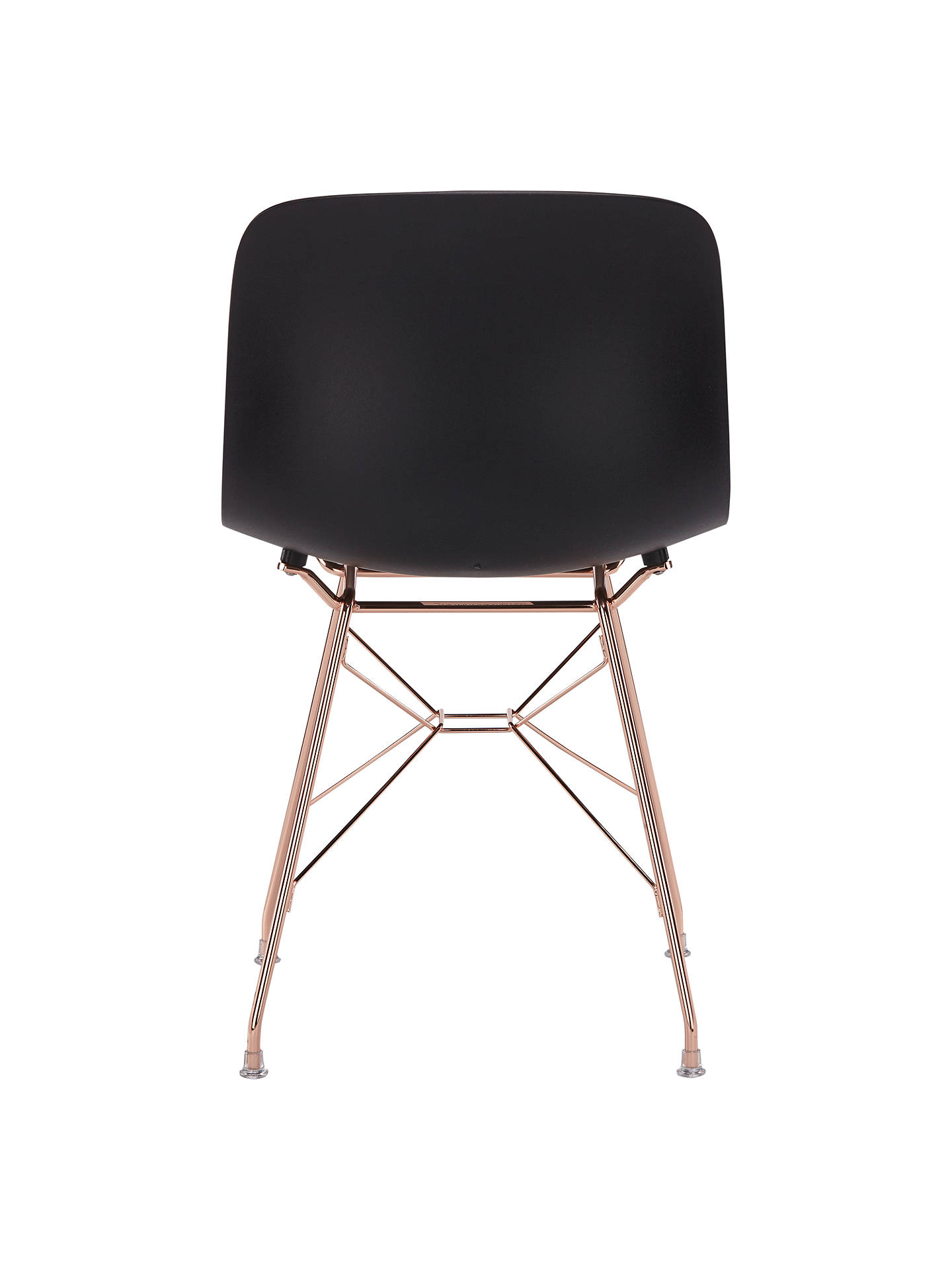 BuyMagis Troy Chair, Black/Copper Online at johnlewis.com