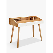 Buy House by John Lewis Bow Desk Online at johnlewis.com