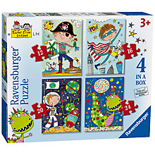 Buy Ravensburger Amazing Adventures Jigsaw Puzzles, Pack of 4 Online at johnlewis.com