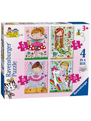 Ravensburger Fairytale Adventures Jigsaw Puzzles, Box of 4