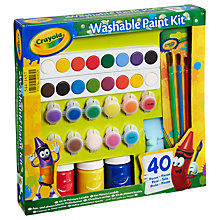 Buy Crayola Washable Paint Kit Online at johnlewis.com