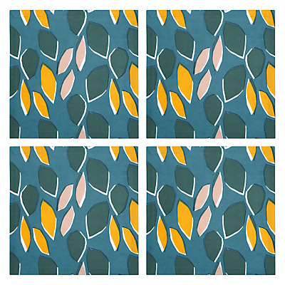 John Lewis Scandi Palm Springs Napkin, Set of 4, Multi
