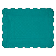 Buy 60157007 John Lewis Quilted Placemats, Set of 2, Thistle Online at johnlewis.com