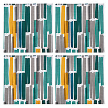 Buy John Lewis Scandi Ingrid Napkins, Set of 4, Blue/Multi Online at johnlewis.com