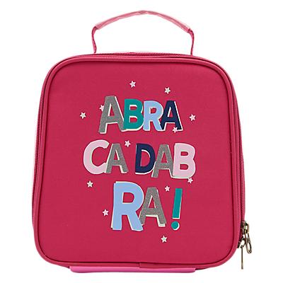 Joules Abracadabra Children's Lunchbox, Pink