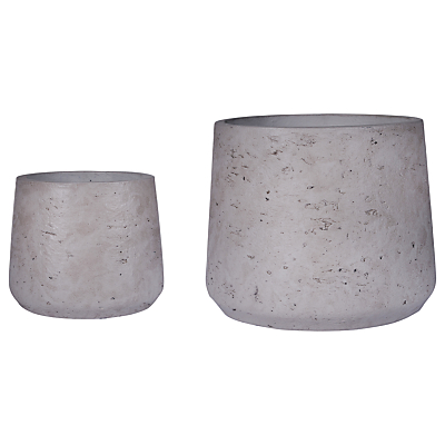 Croft Collection Stratton Tapered Pots, Set of 2