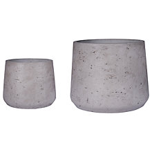 Buy Garden Trading Stratton Tapered Pots, Set of 2 Online at johnlewis.com