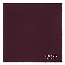 Buy Reiss Helmar Silk Piped Pocket Square Online at johnlewis.com