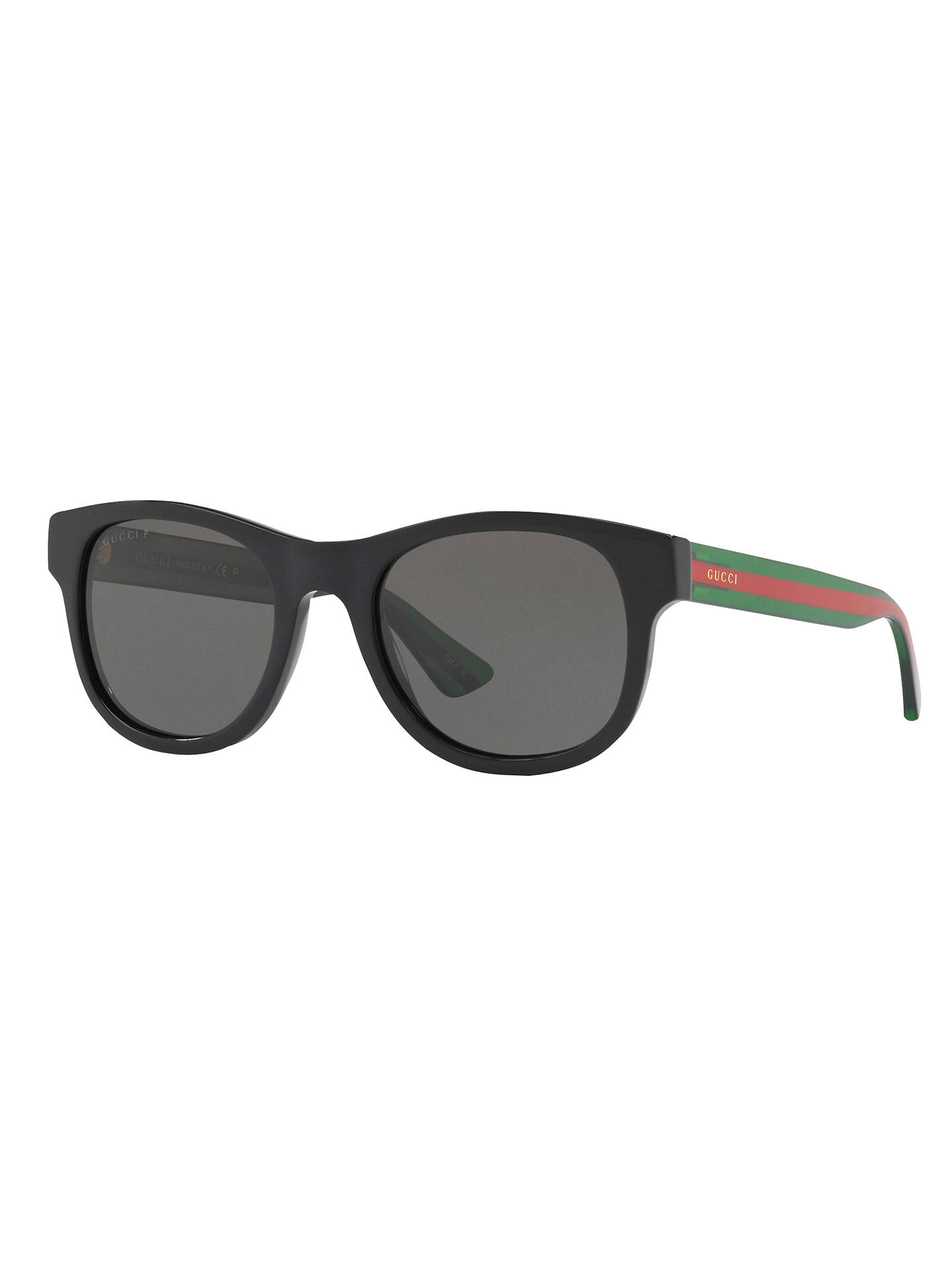 58ee7430d93 Gucci GG0003S D-Frame Sunglasses at John Lewis   Partners