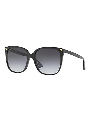 Gucci GG0022S Square Sunglasses