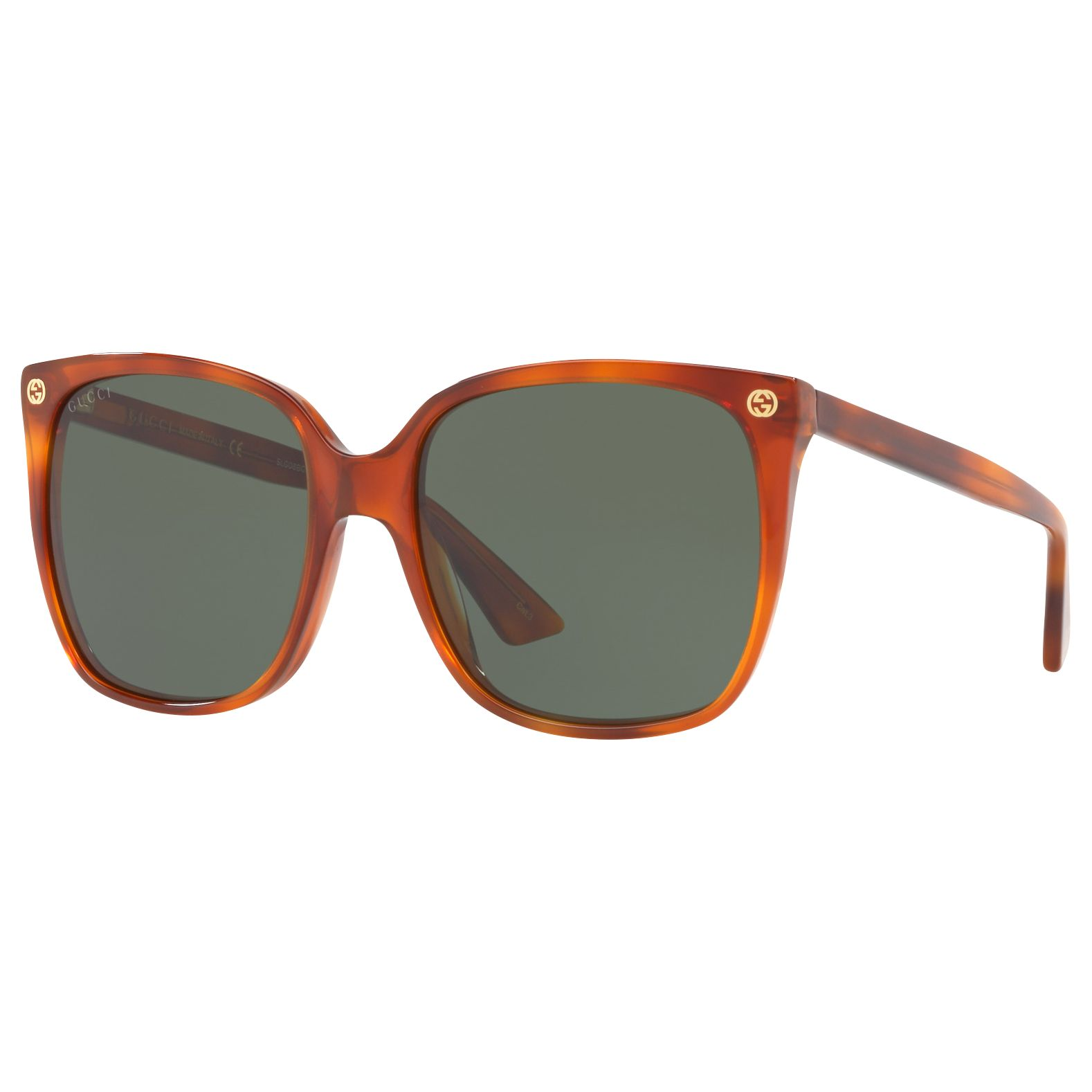 e3ef068d86 Gucci GG0022S Square Sunglasses at John Lewis   Partners