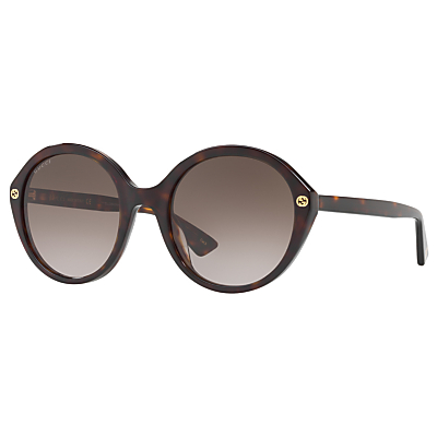 Product photo of Gucci gg0023s round sunglasses