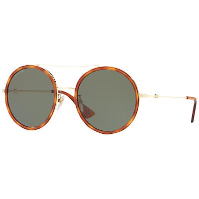 Gucci GG0016S Round Sunglasses