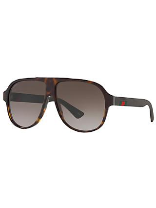 Gucci GG0009S Aviator Sunglasses