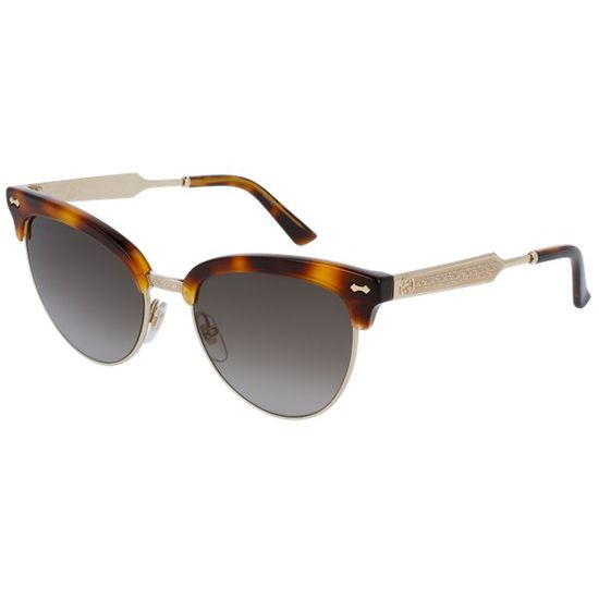 099183847327a Gucci GG 4283 S Embellished Cat s Eye Sunglasses at John Lewis   Partners