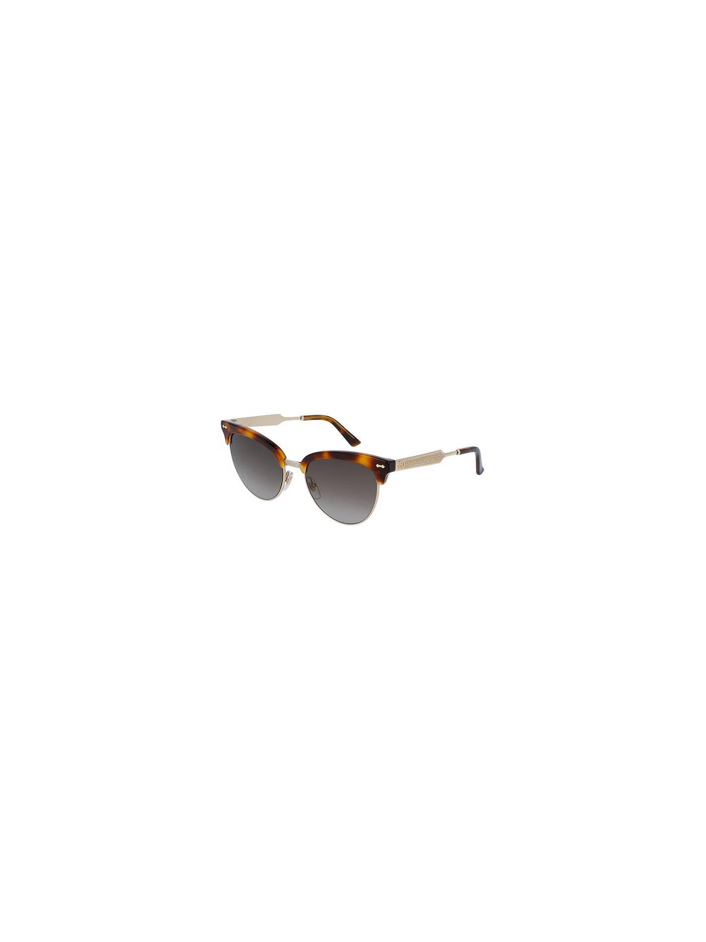 9ae1cca816eb6 Gucci GG 4283 S Embellished Cat s Eye Sunglasses at John Lewis ...