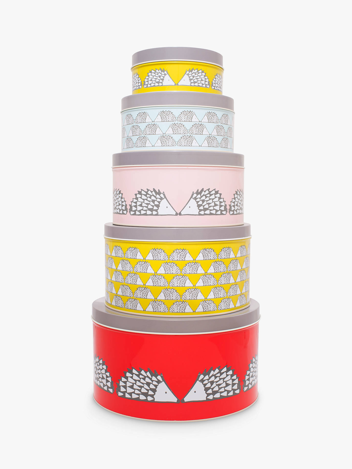 BuyScion Living Spike Tins, Set of 5 Online at johnlewis.com
