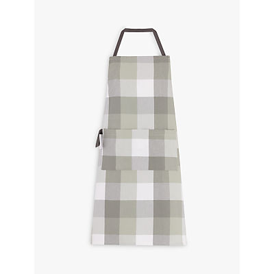 Product photo of John lewis croft collection highland myths check apron neutral multi