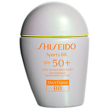 Buy Shiseido WetForce Sports BB SPF 50+ Tinted Moisturiser Online at johnlewis.com