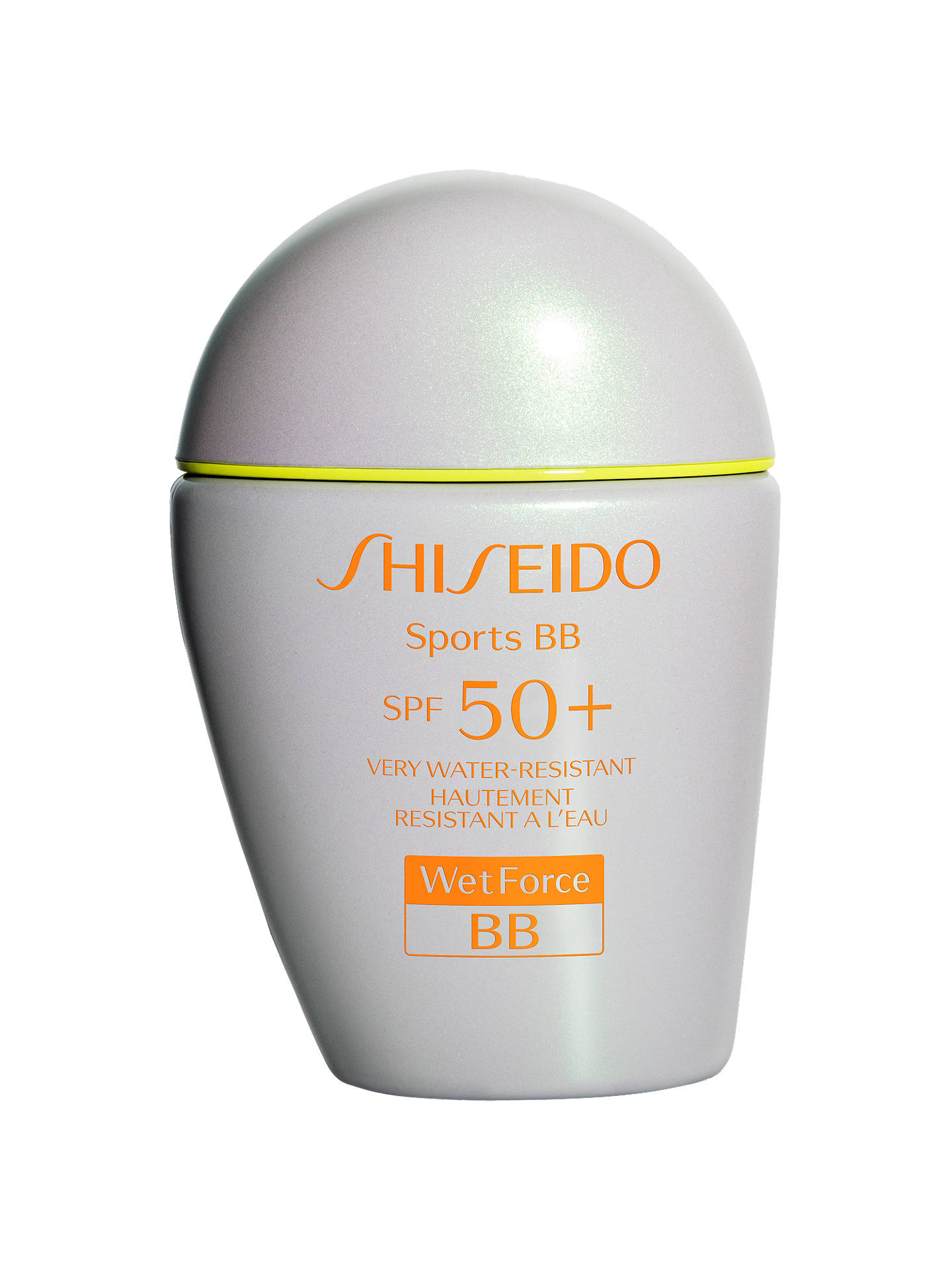 Buy Shiseido WetForce Sports BB SPF 50+ Tinted Moisturiser, Light Online at johnlewis.com